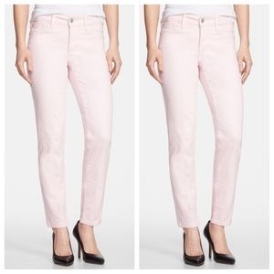 NYD light pink Clarissa Fitted Jeans, ankle, 8